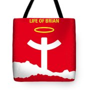 No182 My Monty Python Life Of Brian Minimal Movie Poster Tote Bag