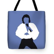 No198 My Barry Manilow Minimal Music Poster Tote Bag