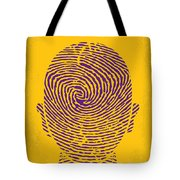 No439 My The Bourne Identity Minimal Movie Poster Tote Bag