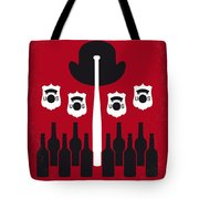 No463 My The Untouchables Minimal Movie Poster Tote Bag