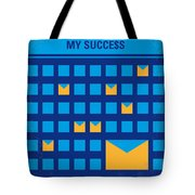 No464 My The Secret Succes Minimal Movie Poster Tote Bag