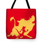 No512 My The Lion King Minimal Movie Poster Tote Bag