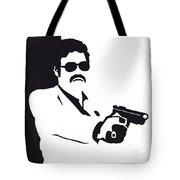 No526 My Medellin Minimal Movie Poster Tote Bag