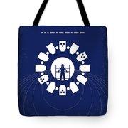 No532 My Interstellar Minimal Movie Poster Tote Bag by Chungkong Art