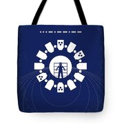 No532 My Interstellar Minimal Movie Poster Tote Bag by Chungkong Art