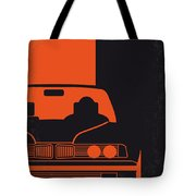 No552 My The Transporter Minimal Movie Poster Tote Bag