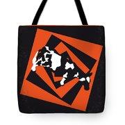 No560 My Twister Minimal Movie Poster Tote Bag