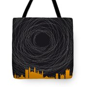 No568 My The Theory Of Everything Minimal Movie Poster Tote Bag