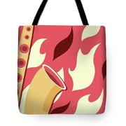 No657 My St Elmos Fire Minimal Movie Poster Tote Bag