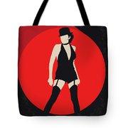 No742 My Cabaret Minimal Movie Poster Tote Bag