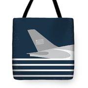 No754 My Sully Minimal Movie Poster Tote Bag