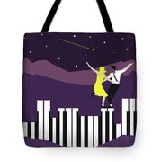 No756 My La La Land Minimal Movie Poster Tote Bag