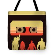 No812 My Guardians Of The Galaxy Minimal Movie Poster Tote Bag
