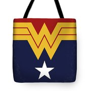 No825 My Wonder Woman Minimal Movie Poster Tote Bag