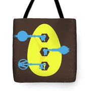 No929 My Ready Player One Minimal Movie Poster Tote Bag