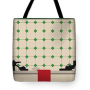 No941 My Last Tango In Paris Minimal Movie Poster Tote Bag