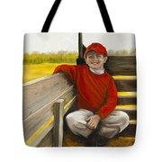 Noah On The Hayride Tote Bag