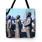 Nobel Square  /  To Honor South Africa's Four Nobel Peace Prize Laureates Tote Bag