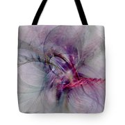 Nobility Of Spirit - Fractal Art Tote Bag