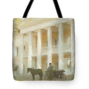 Noble Mansion Of The 19th Century In Russia Tote Bag