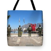 Noble Square Tote Bag