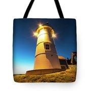 Nobska Light Falmouth Ma Cape Cod Window Shadow Tote Bag