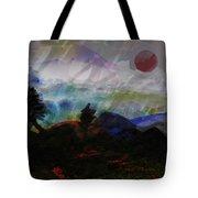 Noche Equatorial  Tote Bag