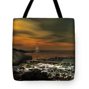 Nocturnal Tranquility Tote Bag