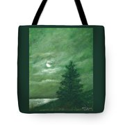 Nocturne In Green Tote Bag