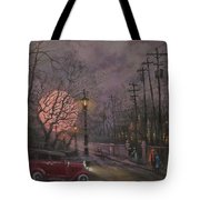 Nocturne In Lavender Tote Bag