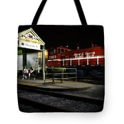 New Orleans Train Stop Tote Bag