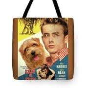 Norfolk Terrier Art Canvas Print - East Of Eden Movie Poster Tote Bag