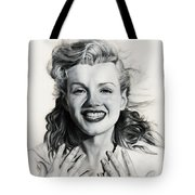 Norma Jean Painting Tote Bag
