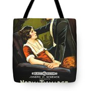 Norma Talmadge In The Probation Wife 1919 Tote Bag