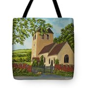 Norman Church In Fingest Tote Bag