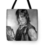 Norman Reedus Tote Bag