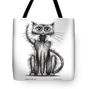 Norman The Cat Tote Bag
