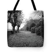 Normandy Black And White Tote Bag