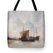 Normandy Coast Tote Bag