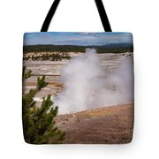 Norris Geyser Basin One Tote Bag