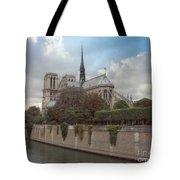 Norte Dame De Paris Tote Bag