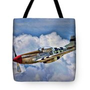 North American P-51 Mustang  Tote Bag