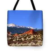 North And South Gateway Rock Tote Bag