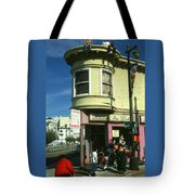 North Beach San Francisco Tote Bag