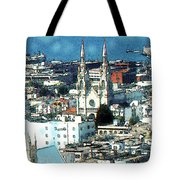 North Beach San Francisco - Watercolor Tote Bag