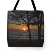 North Beach Sunset Tote Bag by David Lee Thompson