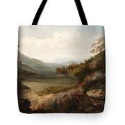 North Carolina Mountain Landscape Tote Bag