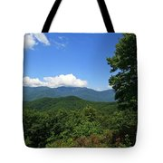 North Carolina Mountains In The Summer Tote Bag