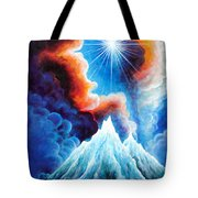 North Caucasus Mountains, Sunset. My Homeland Tote Bag