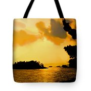 North Channel Sunset Tote Bag